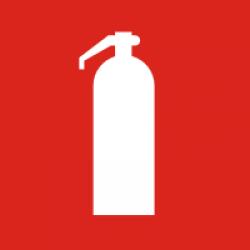 Знак F04 Огнетушитель